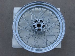 Harley Davidson Chrome 16 40 Spoke Rear Wheel Twincam