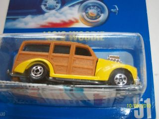 Chase Hot Wheels All Blue Card 51 40s Woodie VHTF Ultra RARE Limited