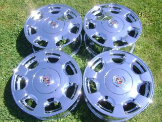 16 Factory Cadillac DeVille Seville Chrome Wheels Rims