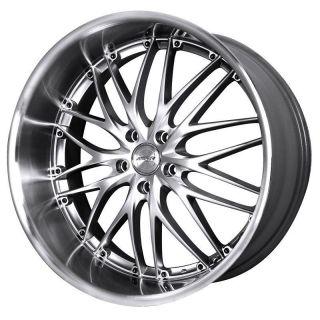 19 MRR GT1 Silver Rims Wheels Tires Fits Nissan 350Z Infiniti G37 G35