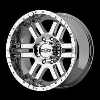 18 MOTO METAL 951 CHROME RIMS W 33X12 50X18 TOYO OPEN COUNTRY MT TIRES
