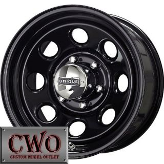 15 Black Unique 297 Wheels Rims 5x114 3 5 Lug Jeep Wrangler Ranger