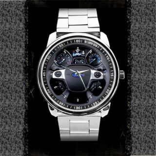 2012 Ford Focus Titanium Steering Wheel Sport Metal Watch