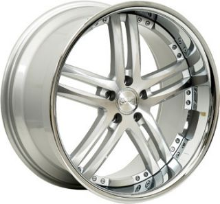 20 Concept One RS 55 Wheels Rims Staggered 5x112
