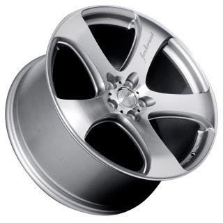 20 MRR HR2 Style Silver Wheels Rims Fit Infiniti G35 G37 M45 Q45 FX