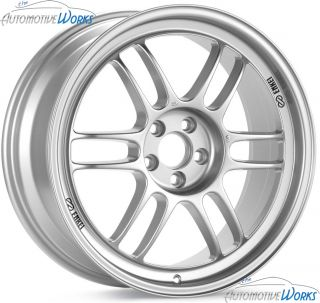 16x7 Enkei RPF1 5x114 3 5x4 5 43mm Silver Rims Wheels inch 16