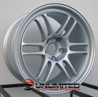 18 RPF1 Style Staggered Wheels Rims Fit Infiniti G35 Coupe Nissan