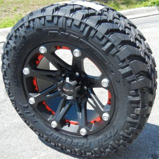 20 Black Ballistic Jester Wheels Nitto Trail Grappler Tires Toyota