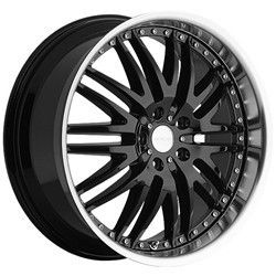 22 inch Menzari Z04 Black Wheels Rims 5x112 45 Audi Q5 Mercedes ml 350