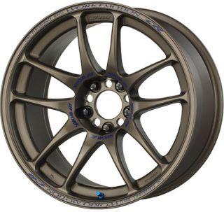 17 Work CR Kai Bronze Rims Wheels 17x8 47 5x114 3