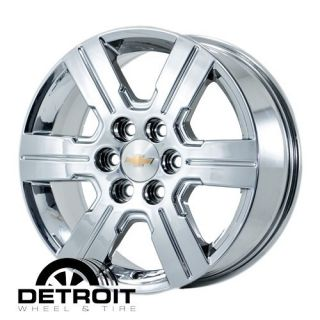 Traverse 2009 2011 PVD Bright Chrome Wheels Rims Factory 5408