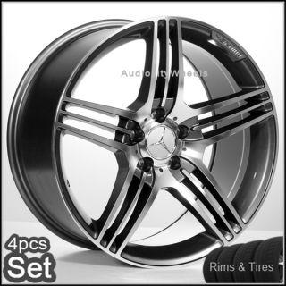 20Mercedes Benz Wheels and Tires Pkg C CL s E AMG Rims
