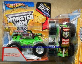 2013 GRAVE DIGGER 4X CHAMP Hot wheels Monster Jam 1 64 scale truck