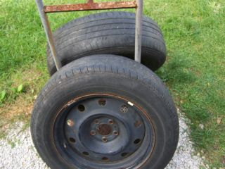 Chrysler 300 Dodge Magnum Charger 17 Steel Wheels with Tires