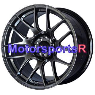 Chromium Black Concave Rims Staggered Wheels Stance 5x114 3 5x100 4 5