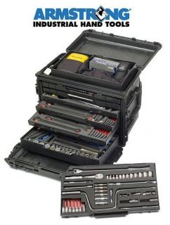 Mobile Tool Kit GMTK Pelican Case Wheels Armstrong Tools   Complete