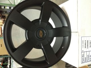 Inch Matte Black Chevrolet Silverado SS Wheels Rims Tahoe LTZ Suburban