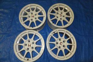 Integra Type R DC2 B18C Rims Wheels 5x114 3 16x7 50 Civic EK9 EG6