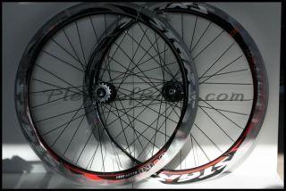 Fixie Single Speed Bike Wheelset Wheels Rim Rims Silver 614130