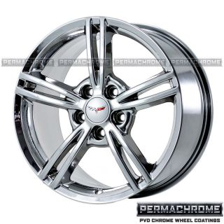 Corvette 18 19 PVD Chrome Wheels 5338 43 Outright