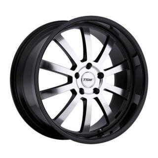 17 TSW Willow Black Rims Wheels RX6 RX7 Mazda3 5x114 3