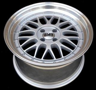 17x8 17x9 17 LM Wheels Rims 5x112 ESM Style 004 Mercedes Audi VW