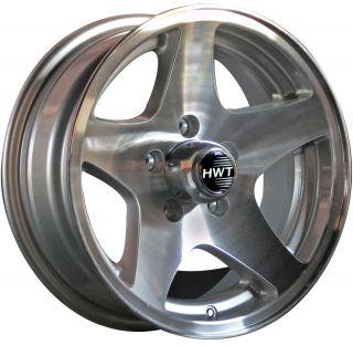 Star 15x6 5x4 5 Hispec Aluminum Trailer Wheel Rim