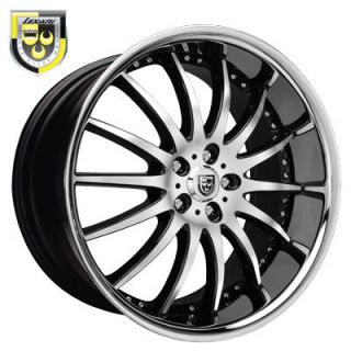 22 Lexani LX 14 Rims Wheels Tire Stagger BMW S550 20