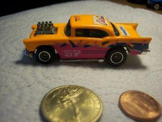 1976 Hot Wheels 56 Chevrolet 57 Chevy Car Florescent Orange Pink Cal
