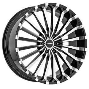 22 Black Rims Tires 6x139 Denali Nissan GMC QX56 Tahoe Avalanche