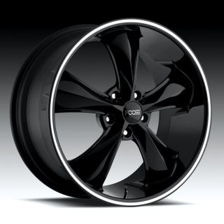 20 Black FOOSE Legend SS Camaro Staggered Wheels Rims
