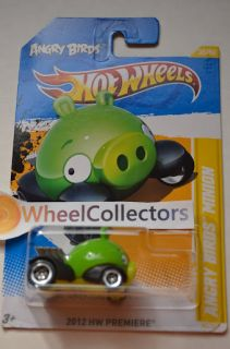 Minion Angry Birds 2012 Hot Wheels Q Case RARE Premiere 35 50