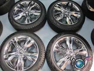 Ford Edge Factory Chrome Clad 20 Wheels Tires OEM Rims 3847 245 50 20