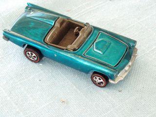 Mattel Hot Wheels Red Line Classic 57 T Bird Vintage Mattel Nice