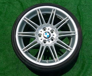 Style 225 19 inch Double Spoke SPORT WHEELS RunFlat TIRES 328i 330i