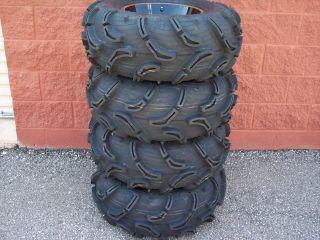 30 Yamaha Rhino Zilla Wide Kit ATV Tire 14 B6 Wheel Kit Complete