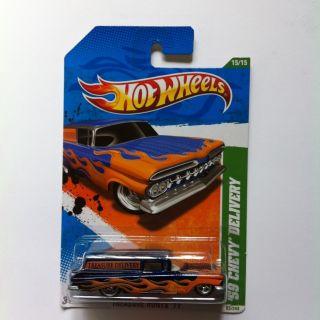 Hot Wheels 2011 59 Chevy Delivery Super Treasure Hunt