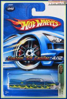 2006 Hot Wheels Custom 59 Cadillac Treasure Hunt