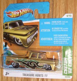 2011 Hot Wheels Treasure Hunt Custom 62 Chevy 53 Short
