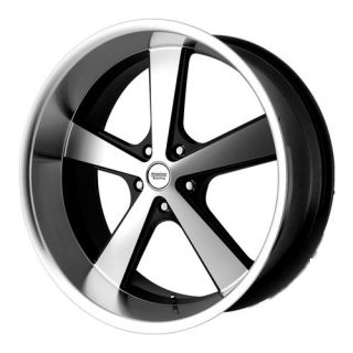 17 WHEELS RIMS AMERICAN RACING NOVA GLOSS BLACK MACHINED MUSTANG YUKON