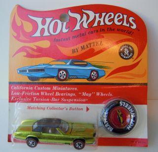 1969 Hot Wheels Custom Eldorado Redline Blister