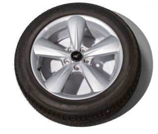Ford Mustang Wheels and Tires Take Off 2013 Less Than 400 Miles TPMS
