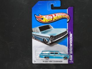 Hot Wheels 2013 HW Showroom HW Garage 64 Chevy Nova Station Wagon