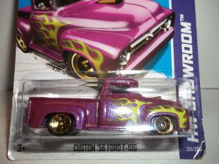 Hot Wheels Custom 56 Ford F 100 Pickup 211 HW Showroom