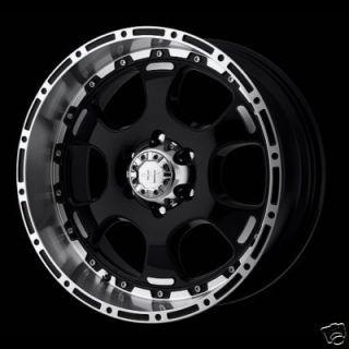 20 Inch 20x9 Black Helo RIMS HE842 8 LUG Wheels 8x6 5 Lifted Ram Chevy