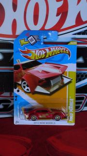 Hot Wheels 2012 Mad Manga Custom Super Real Riders New Treasure Hunt
