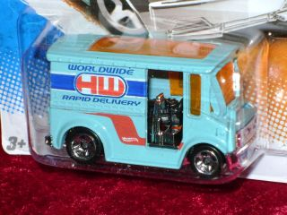 Hot Wheels Bread Box Delivery Truck Blue s Scale 1 64 R