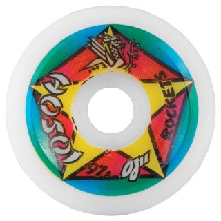 OJ2 Christian Hosoi Rockets Skateboard Wheels 61mm 97A White