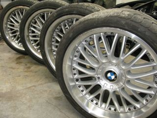 E65 WHEELS RIMS OEM 750I 750LI 760 TWO PIECE LIGHT ALLOY RIM 20 SET