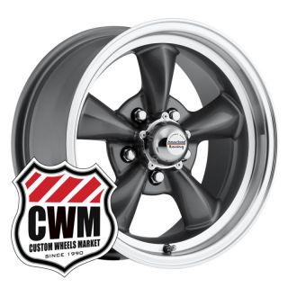 Gray Wheels Rims 5x4 75 Lug Pattern for Chevy II Nova 66 67